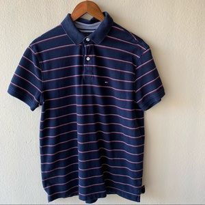 COPY - Tommy Hilfiger striped polo collared polo